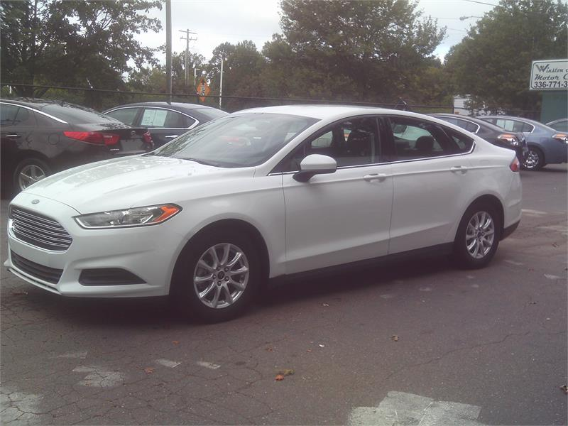 2016FordFusion S