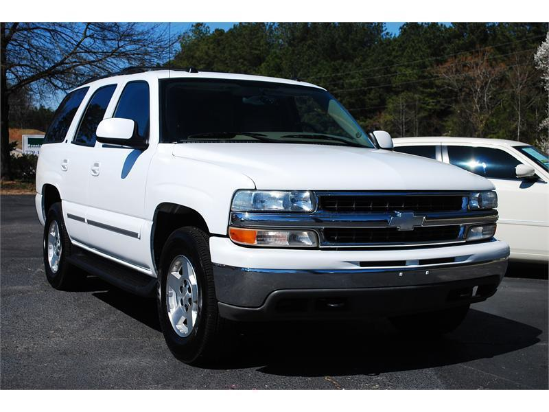 2004 CHEVROLET TAHOE K1500 for sale by dealer